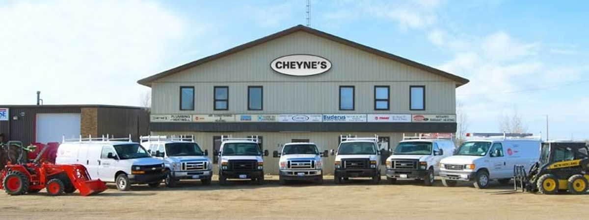 cheynes plumbing and heating-building