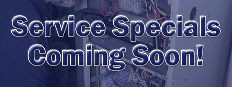 Specials Coming Soon